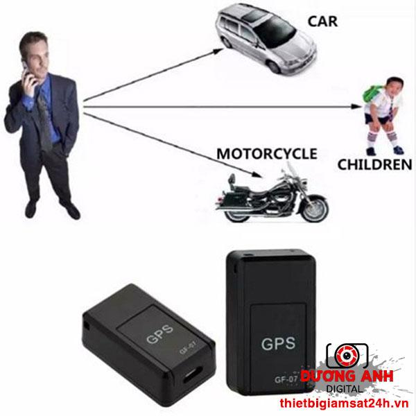 GPS TRACKER GF-07 - Máy nghe trộm có ghi âm và định vị siêu nhỏ