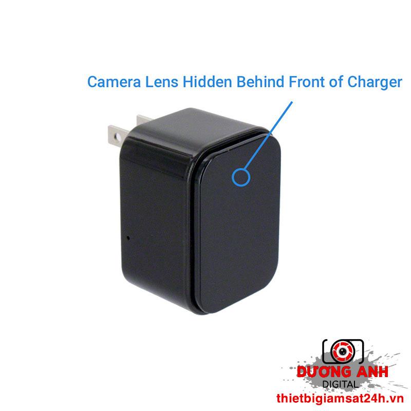 Camera ngụy trang củ sạc điện thoại Wifi D8