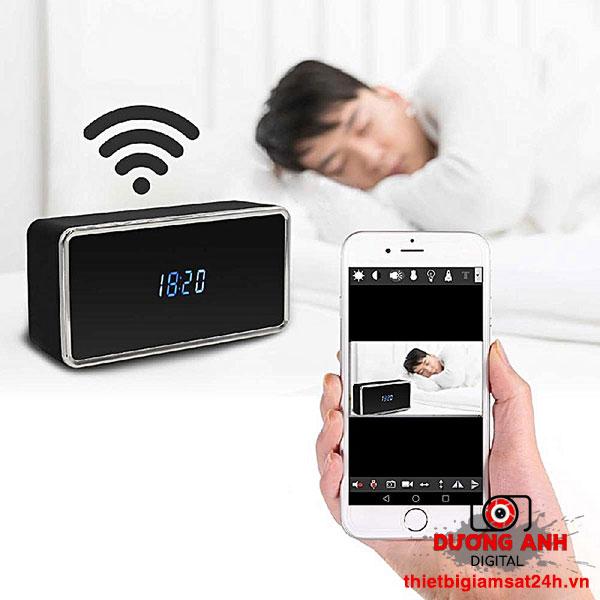 Camera ngụy trang đồng hồ để bàn Wifi Z21