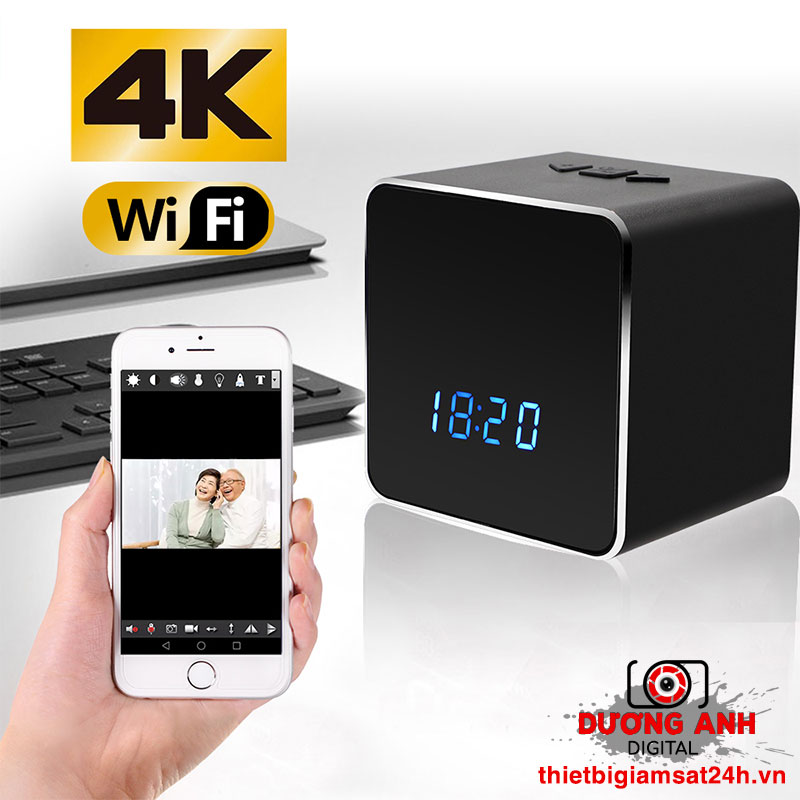 Camera 4K ngụy trang Loa Bluetooth - Đồng hồ Z22