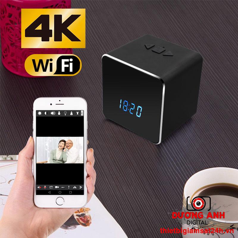 Loa Bluetooth - Đồng hồ Camera 4K Wifi Z22