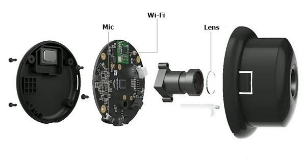 Camera quan sát mini có cấu tạo tinh vi