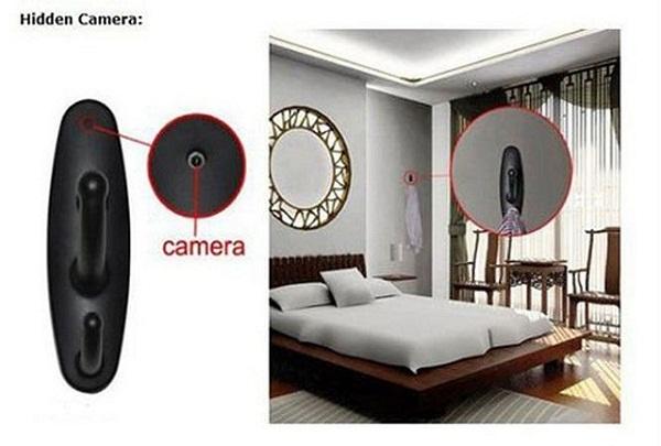 Trong nhà nghỉ có thể bị lắp đặt camera quay lén không dây
