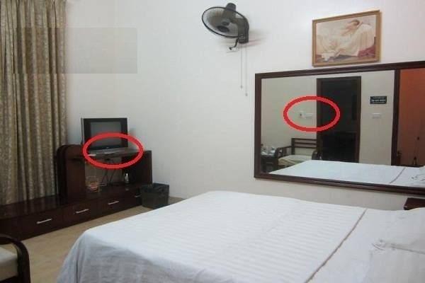 Nhiều thiết bị trong nhà nghỉ có thể ngụy trang thành camera quay lén