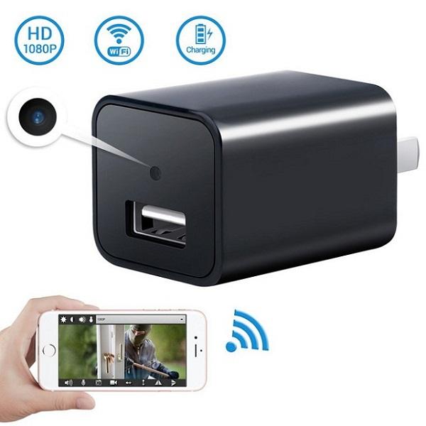 Bạn có thể sử dụng nhiều loại camera quay lén ngụy trang để thay cho camera quay lén iphone