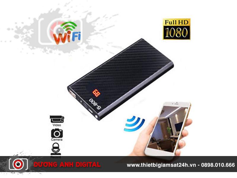 Camera wifi ngụy trang sạc sự phòng S800