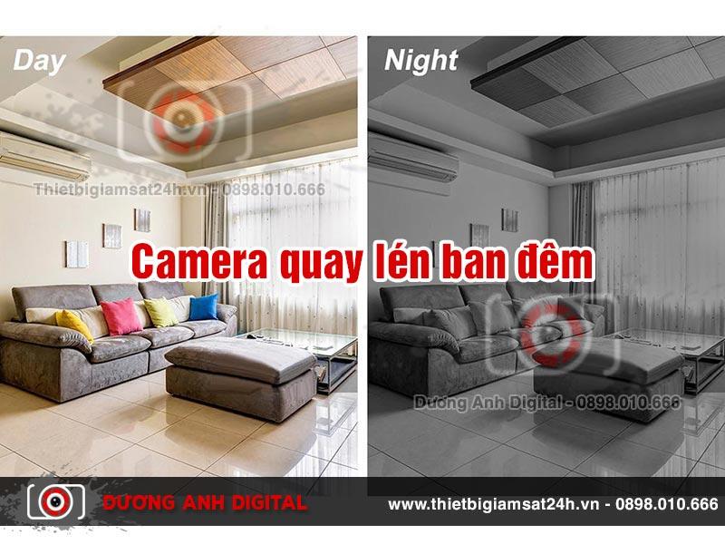 camera quay lén ban đêm