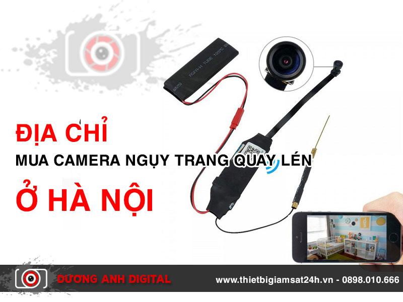 Địa chỉ mua camera ngụy trang quay lén ở Hà Nội