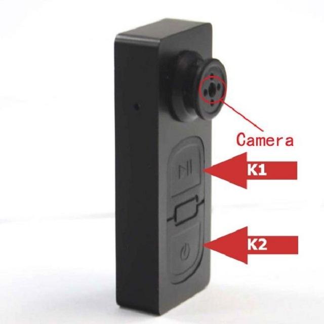 Camera cúc áo với kích thước nhỏ gọn tiện lợi cho người sử dụng