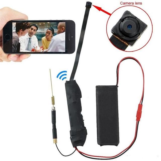 Với camera quay lén bạn có thể giám sát người làm của mình một cách bí mật