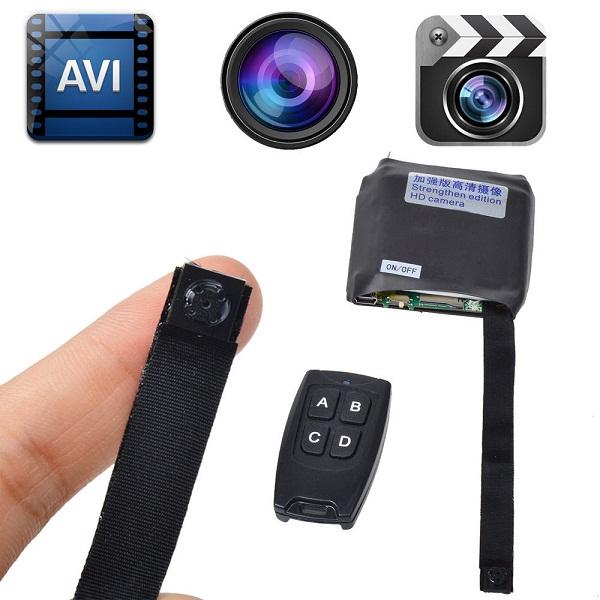 Camera quay lén siêu nhỏ có nhiều loại khác nhau