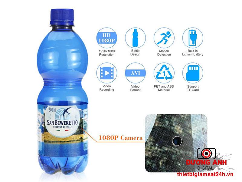 Camera giám sát ngụy trang chai nước K3