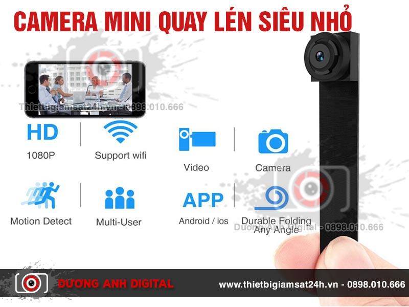 Camera mini quay lén siêu nhỏ