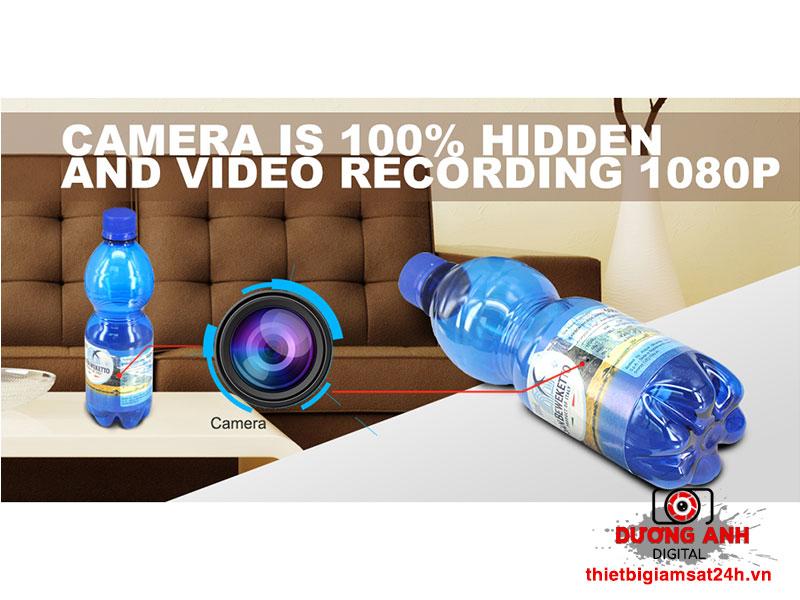 Camera Ngụy Trang Chai Nước K3