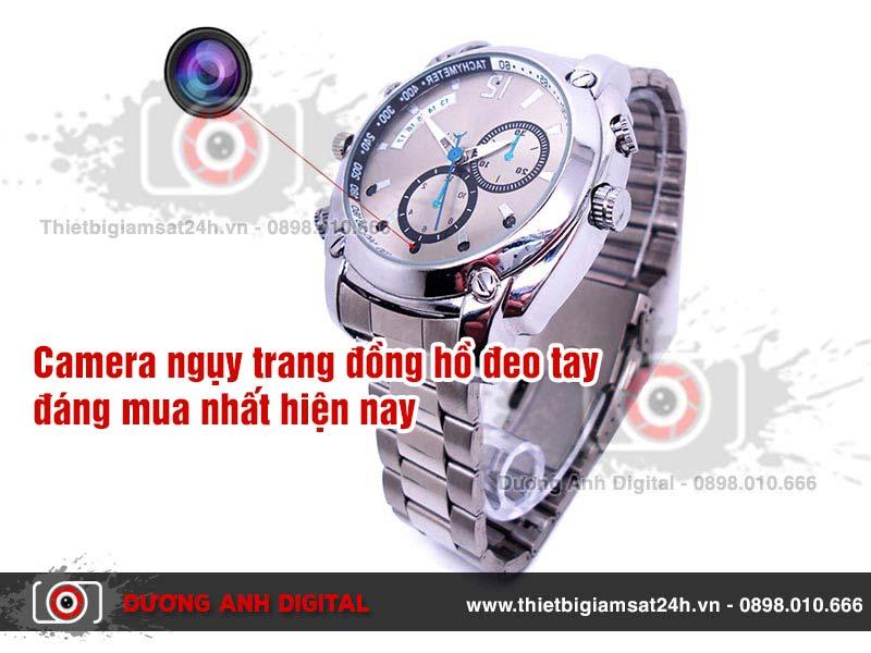 Camera ngụy trang đồng hồ đeo tay