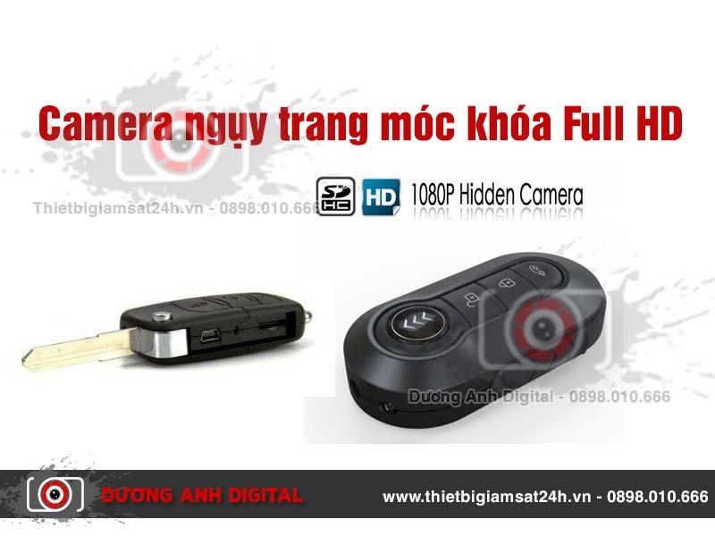 Camera ngụy trang móc khóa Full HD