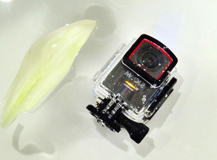 Camera quay lén chống nước