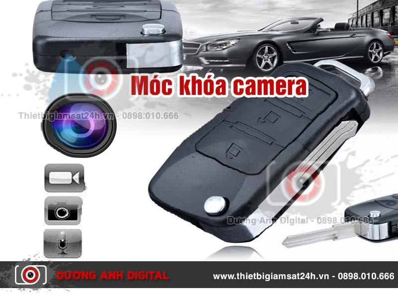 Móc khóa Camera ngụy trang quay phim chụp hình Full HD
