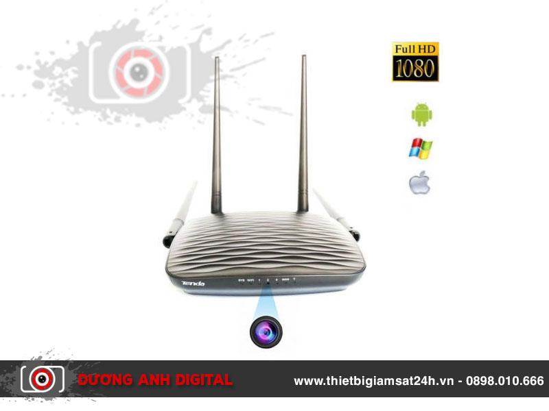 Camera 4K Wifi ngụy trang router wifi Tenda