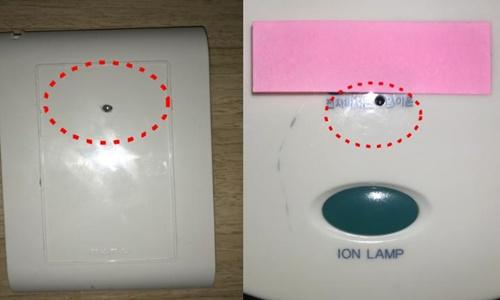 Camera ngụy trang ổ điện trong khách sạn tại Hàn Quốc