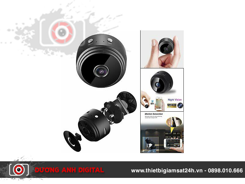 Camera Night Vision A9 WiFi Full HD