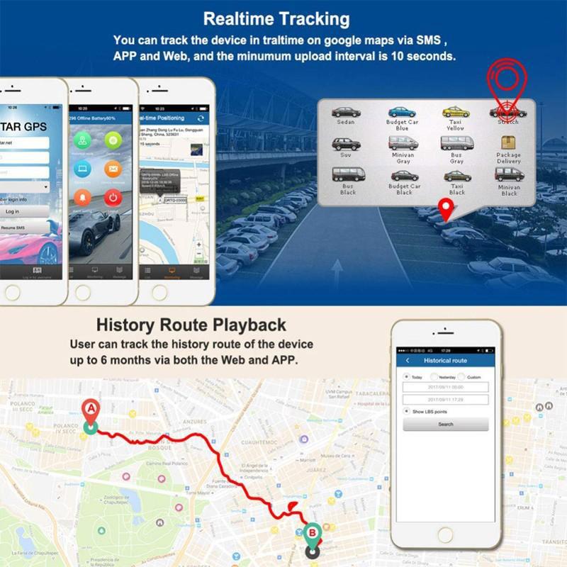 Người dùng có thể theo dõi quãng đường di chuyển trực tuyến của đối tượng