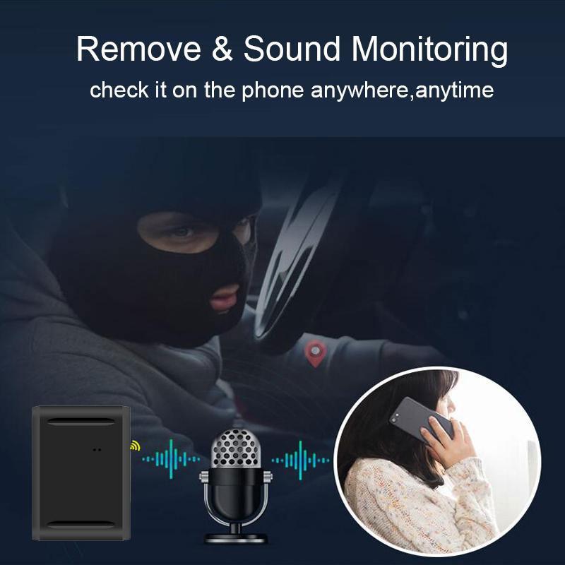 Thiết bị định vị nghe lén cho phép người dùng giám sát di chuyển trực tuyến