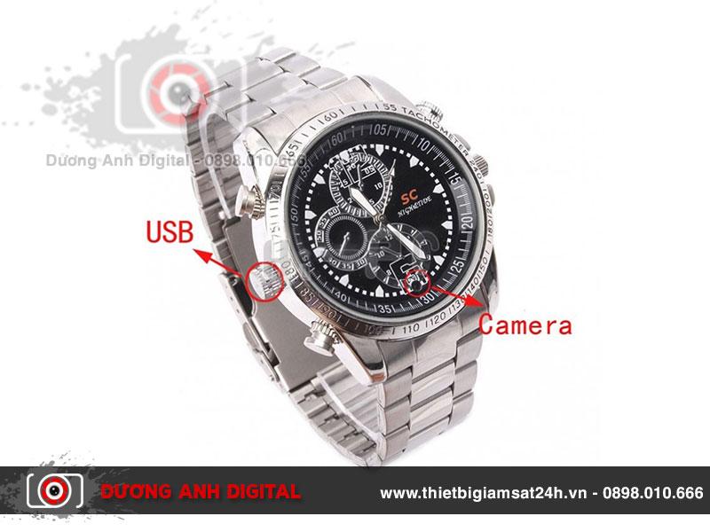 Đồng hồ có giao diện hiện đại, mang vẻ đẹp sành điệu