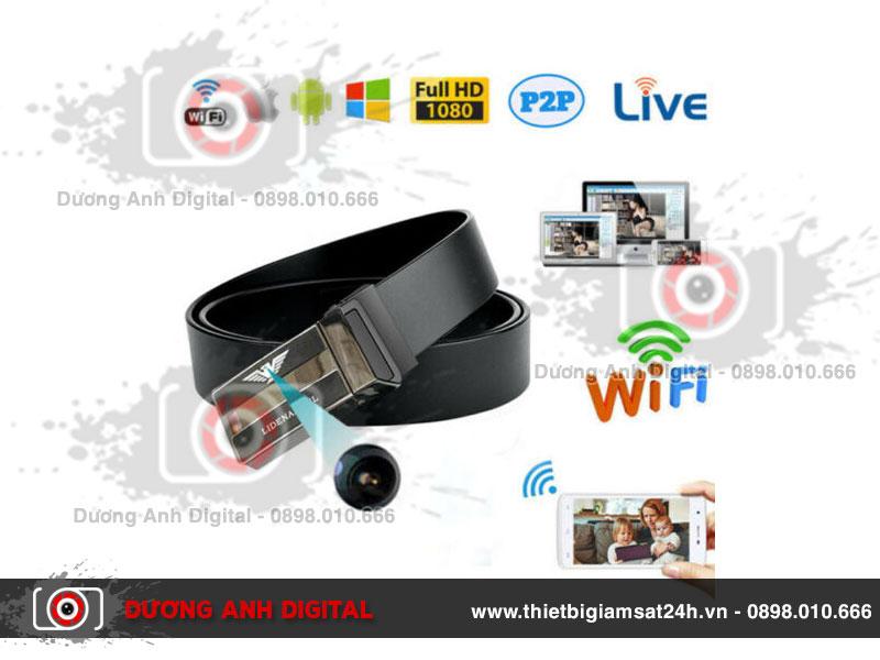 Camera ngụy trang thắt lưng nam Full HD kết nối Wifi