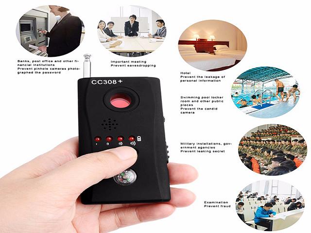 máy phát hiện thiết bị định vị nghe lén chính xác nhất
