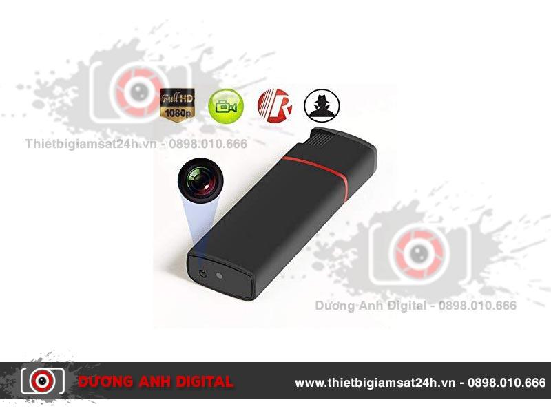 Camera Full HD ngụy trang bật lửa K6