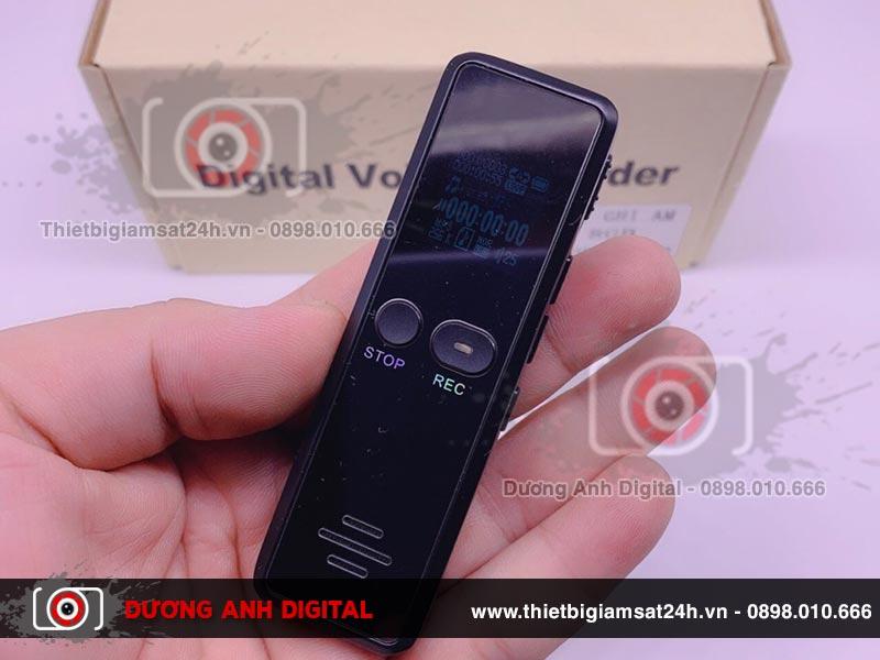GH 818 là máy ghi âm kỹ thuật số có kiểu dáng hiện đại, tinh tế