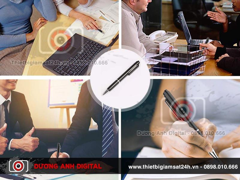 Người dùng có thể sử dụng bút ghi âm trong nhiều trường hợp khác nhau