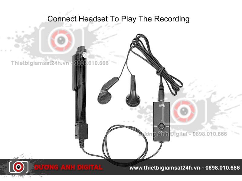 Một bộ sản phẩm đầy đủ của bút ghi âm kỹ thuật số