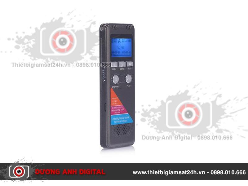 Máy ghi âm sử dụng dễ dàng và linh hoạt