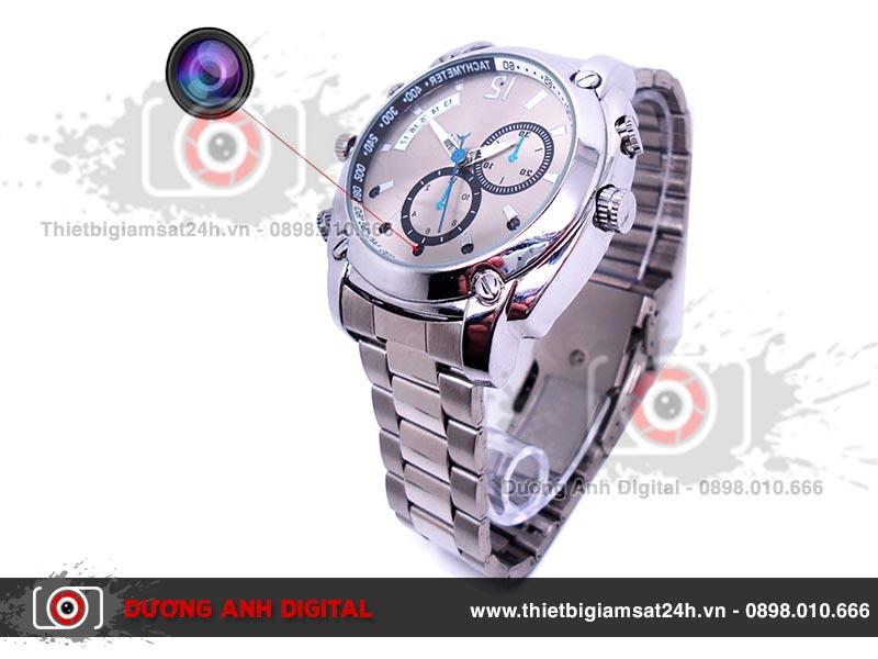 Camera ngụy trang đồng hồ đeo tay quay đêm chống nước Y300
