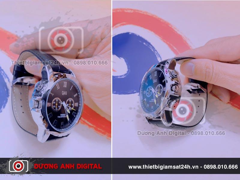 Camera ngụy trang chiếc đồng hồ đeo tay được thiết kế rất tinh xảo