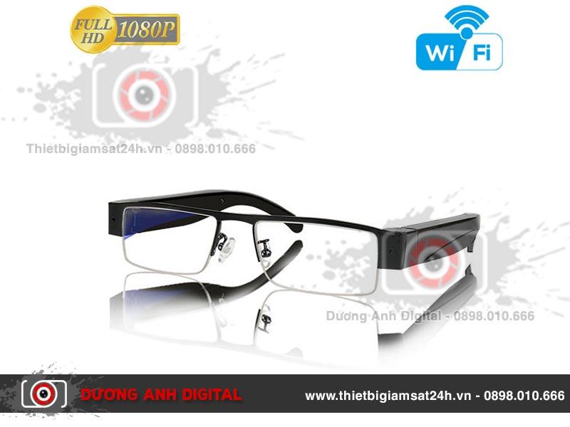 Camera ngụy trang kính mắt V20W - EyeGlass WiFi Camera P2P