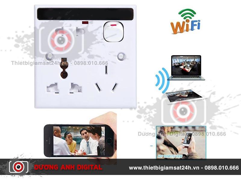 Camera ngụy trang ổ điện âm tường EW20 - 1080P Wifi