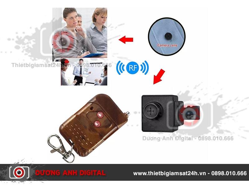 Camera 4K ngụy trang cúc áo T9
