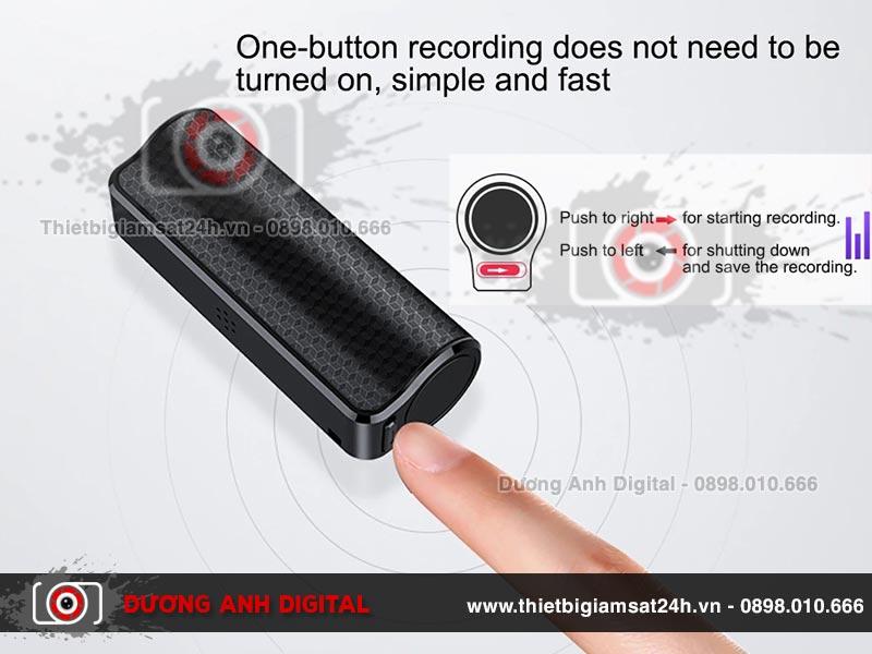 Q70 có khả năng ghi âm liên tục trong hơn 500 giờ đồng hồ