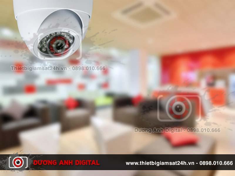 Lắp đặt camera giám sát gia đình có chức năng thu âm rất tiện lợi